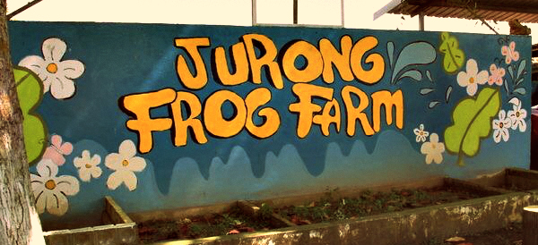 Jurong Frog Farm entrance mural