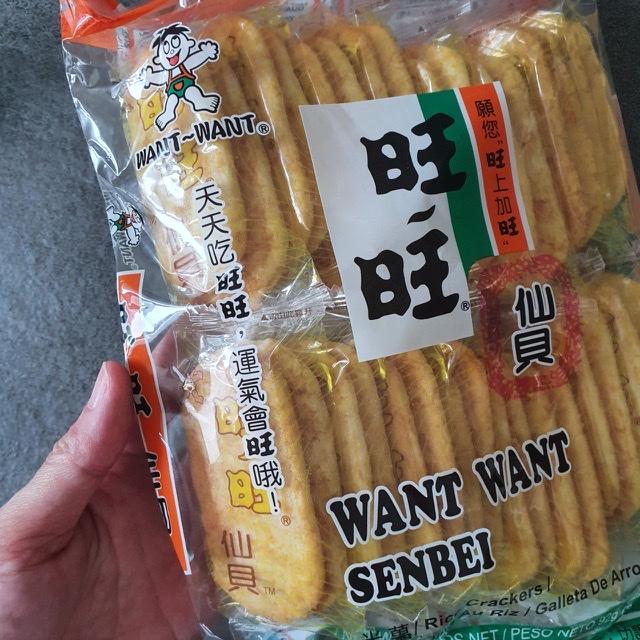 Want want senbei rice crackers
